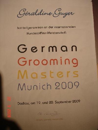 1.Internationale Hundecoiffeuse Meisterschaft in Deutschland/Dachau